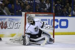la kings rally late, even series with blues 4-3